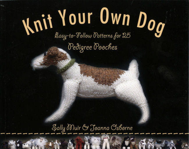 knit dog book