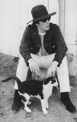 lennon and cat