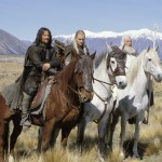 "The horses from the movie ""Lord of the Rings"""